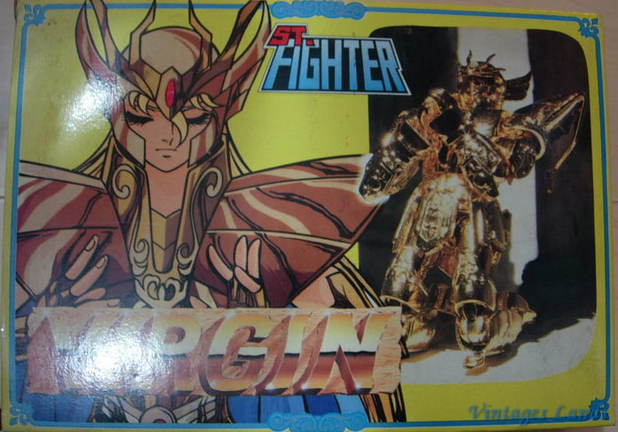 Cavalieri dello Zodiaco scatola versione Bootlegs anni Novanta e Duemila Vierge10