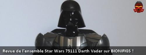 [Revue] Figurine à construire LEGO Star Wars 75111 : Dark Vador  Banniy10