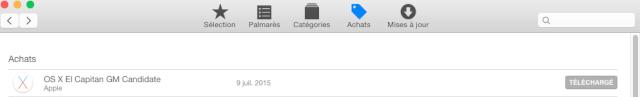 """Disponibilité de """"OS X El Capitan GM Candidate"""" - Page 2 011"""