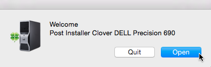 Clover DELL Precision 690  0212