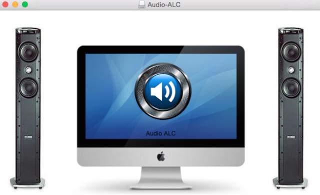 OS X Audio ALC 116