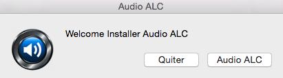 OS X Audio ALC 216
