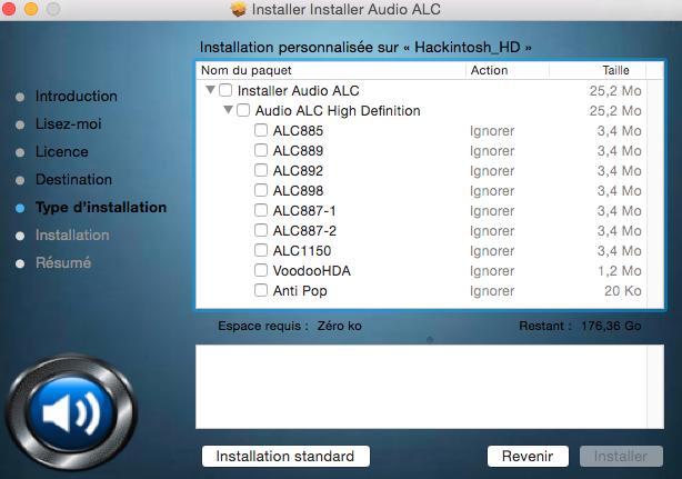OS X Audio ALC 313