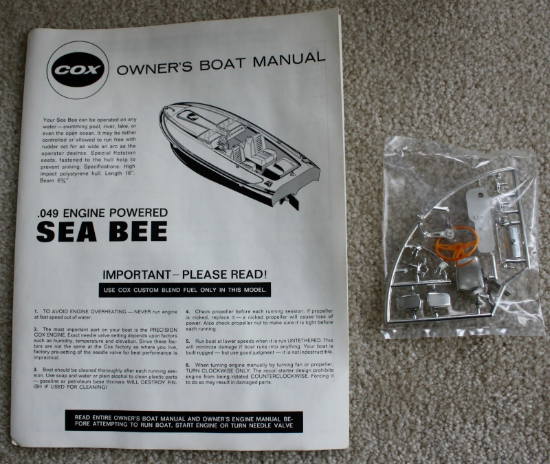 Need Cox Sea Bee instruction sheet Sea_be10
