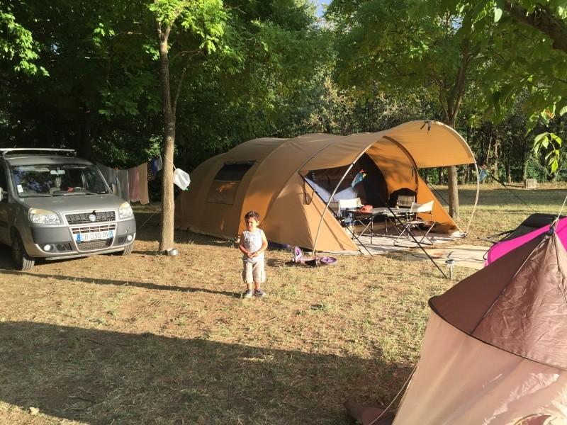 Camping municipal du pont vieux à Avèze (30) Cévènnes Img_4924