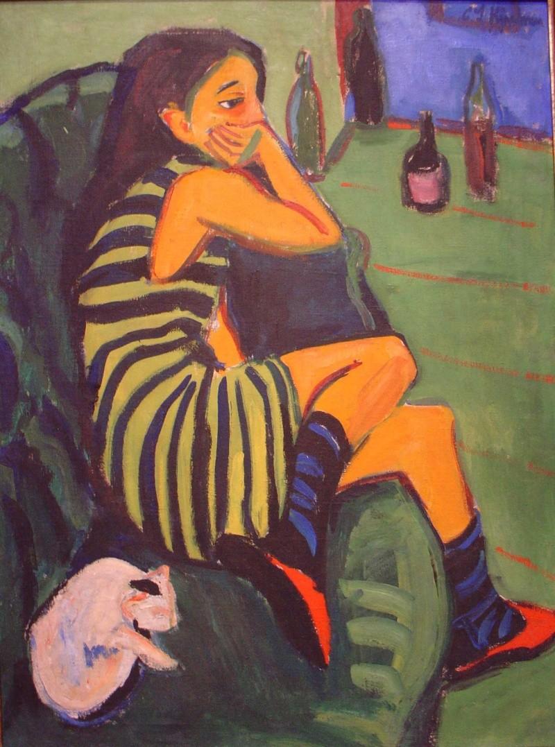 Ernst Ludwig Kirchner [Peintre] Marcel10