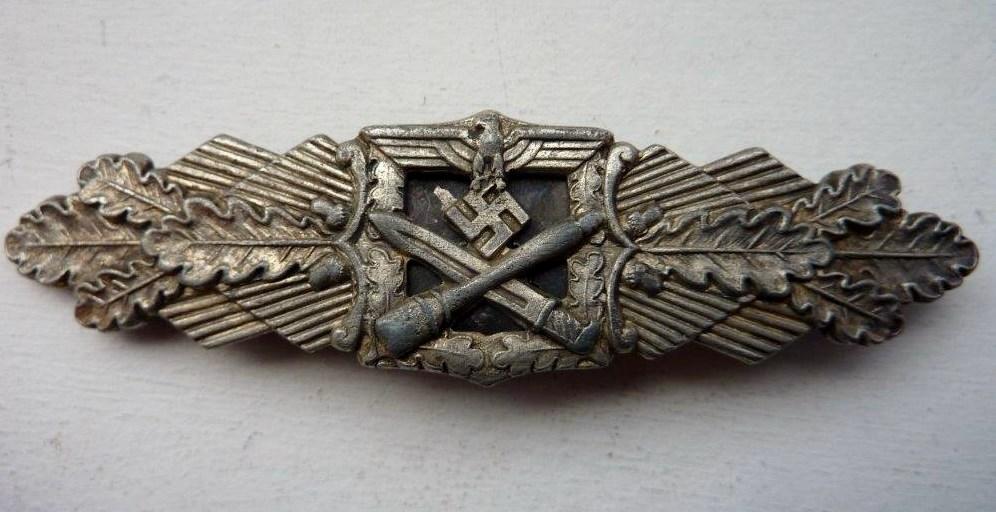Barrettes de combat rapproché X 2 Juncker Argent & FLL Bronze P1260111