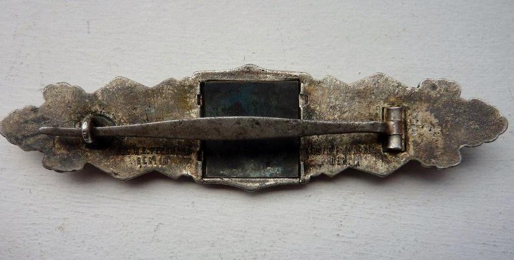 Barrettes de combat rapproché X 2 Juncker Argent & FLL Bronze P1260112