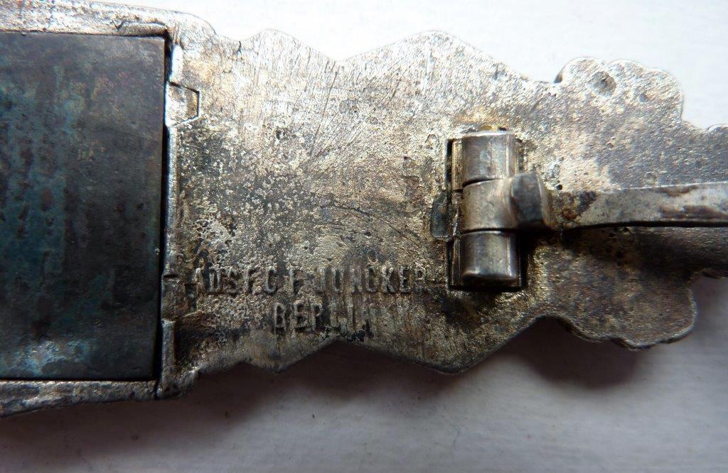 Barrettes de combat rapproché X 2 Juncker Argent & FLL Bronze P1260114