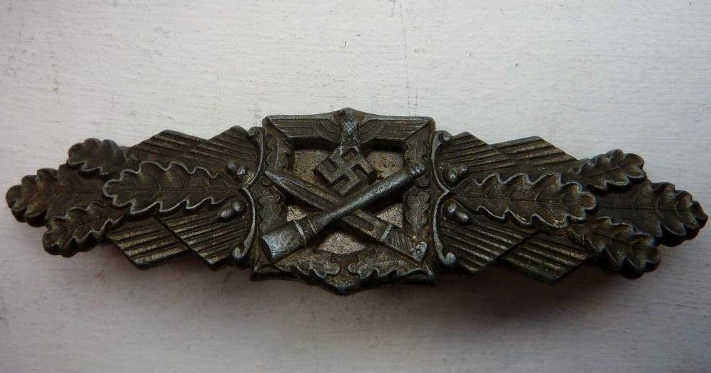 Barrettes de combat rapproché X 2 Juncker Argent & FLL Bronze P1260115