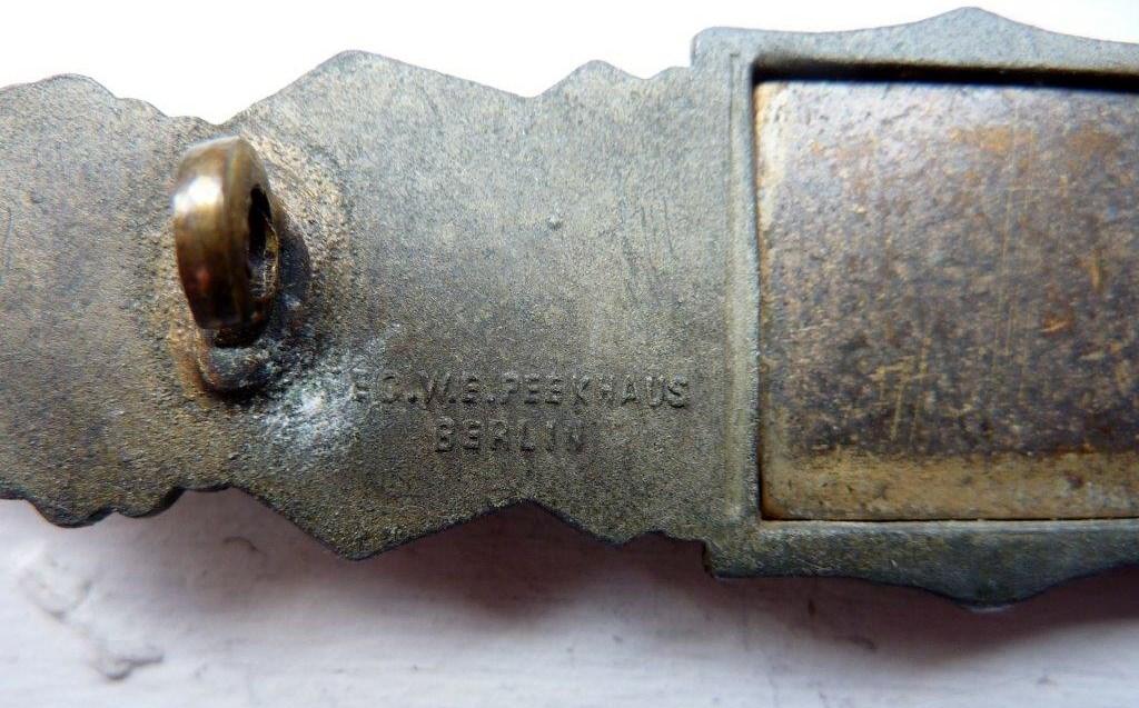 Barrettes de combat rapproché X 2 Juncker Argent & FLL Bronze P1260117