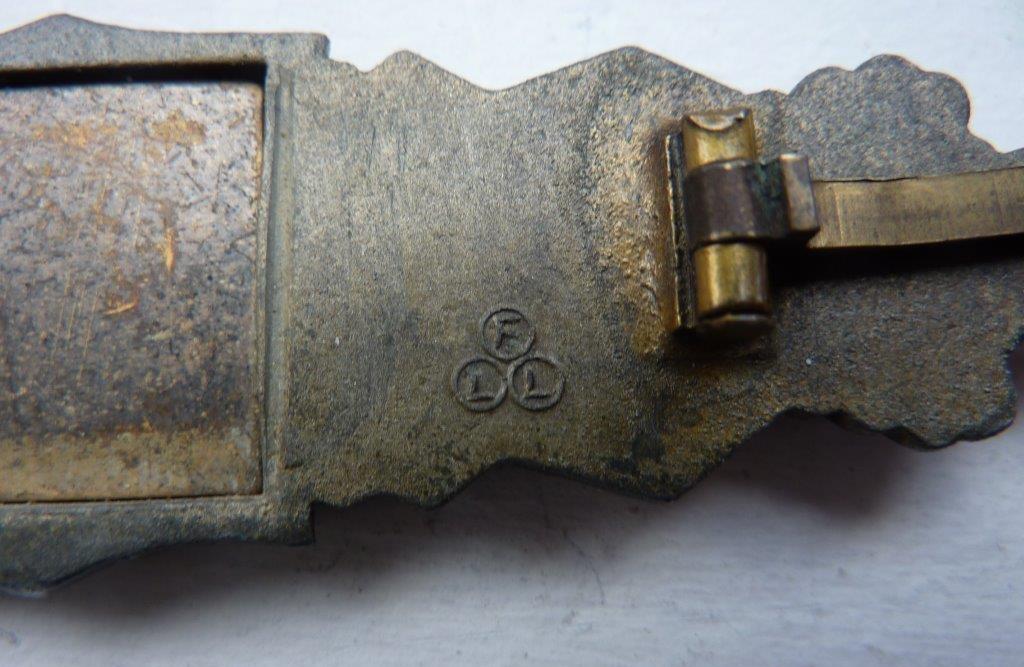 Barrettes de combat rapproché X 2 Juncker Argent & FLL Bronze P1260118