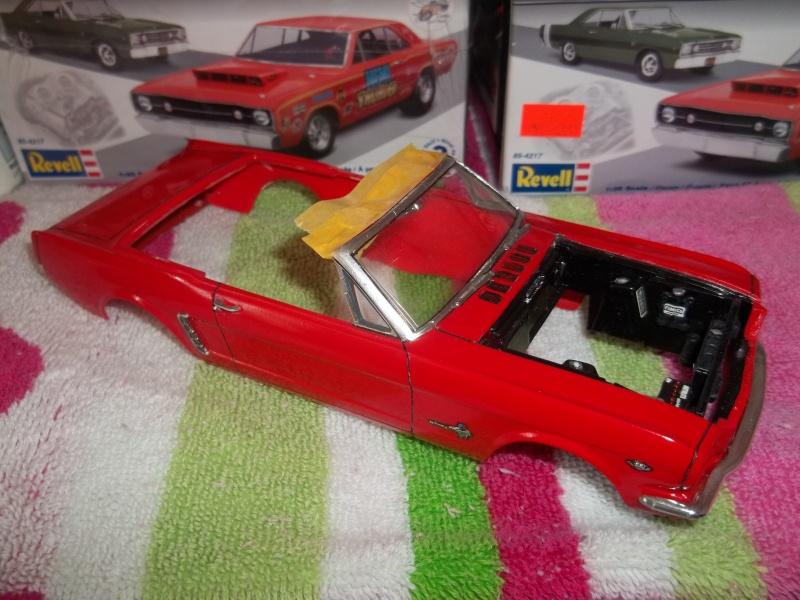 1964½ Mustang conv. Monogram 1/24 01011
