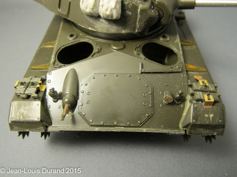 """M-24 Chaffee """"Indochine"""" - ITALERI 244 + photo-découpe Eduard 35608 + canon RB Model 35B27 + paquetages Blackdog T35070 27102042"""