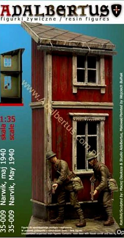 Diorama - Narvik 1940 - ADALBERTUS 35009 - 1/35 Adalbe10