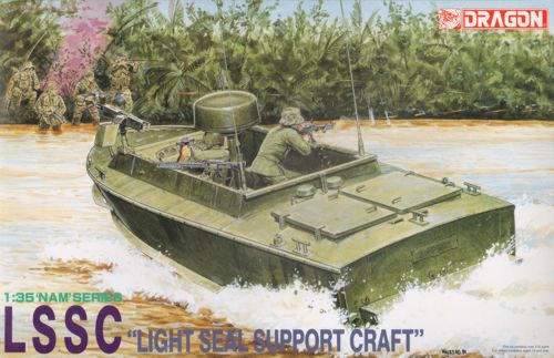 "LSSC ""Light Seal Support Craft"" - DRAGON 3301 - 1/35 Dragon10"
