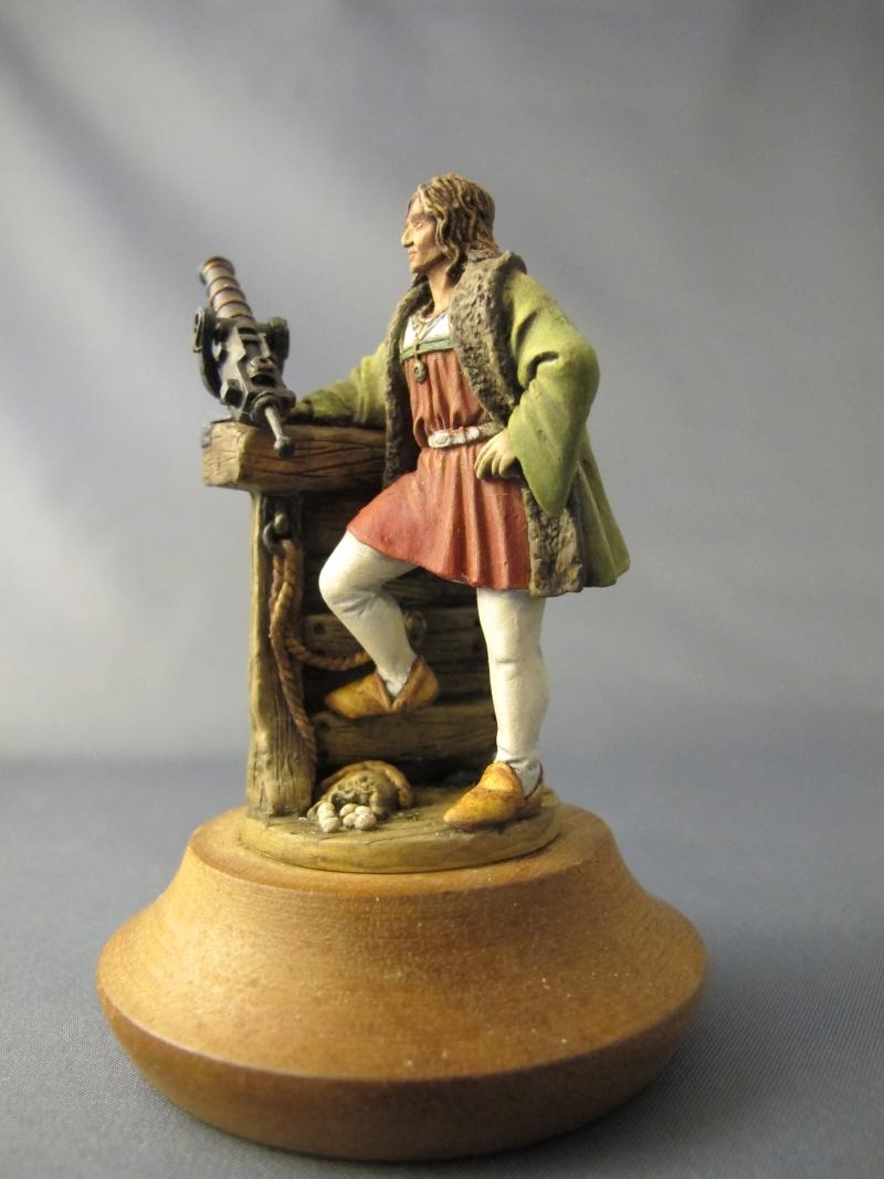Cristobal Colon, 1492 - F.M. BENEITO - 60mm - Huile Img_6822