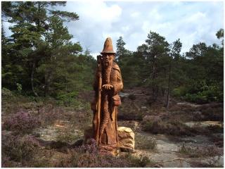 Sculptures bois Magic10