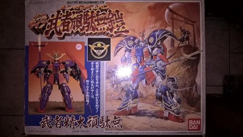 Realtype Musha Z-Gundam Cloth - 1989 Bandai vintage Made in Japan Wp_20125