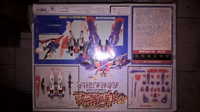 Realtype Musha Z-Gundam Cloth - 1989 Bandai vintage Made in Japan Wp_20127