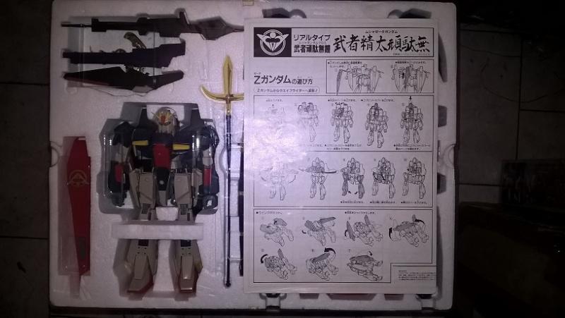 Realtype Musha Z-Gundam Cloth - 1989 Bandai vintage Made in Japan Wp_20128