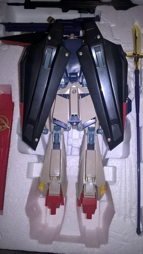 Realtype Musha Z-Gundam Cloth - 1989 Bandai vintage Made in Japan Wp_20132