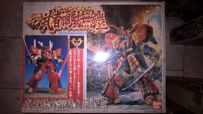 Realtype Musha ZZ-Gundam Cloth - 1989 Bandai vintage Made in Japan Wp_20133