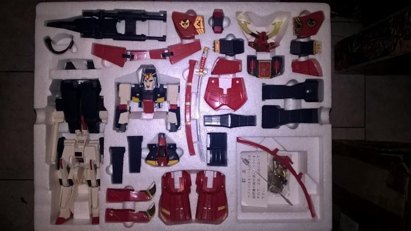 Realtype Musha ZZ-Gundam Cloth - 1989 Bandai vintage Made in Japan Wp_20137