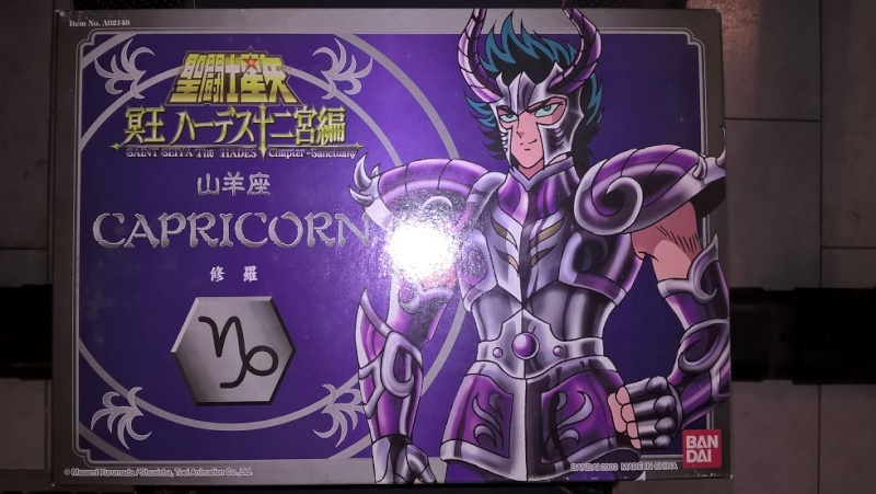 SAINT SEIYA - CAVALIERI DELLO ZODIACO - CAPRICORN - THE HADES CHAPTER SANCTUARY - BANDAI 2003 Wp_20142