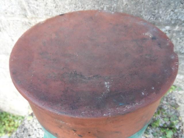 Terracotta glazed jar 005_6410
