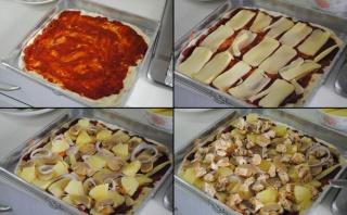 Pizza au poulet BBQ 2010-010