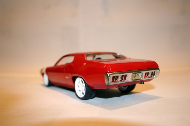 "'71 Plymouth GTX ""Bloody Machine"" (Monogram) [Terminée] 1112"