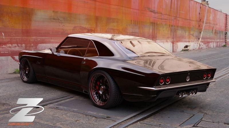 #44 : Camaro SS 1968 firebird wide-body 1968_b10