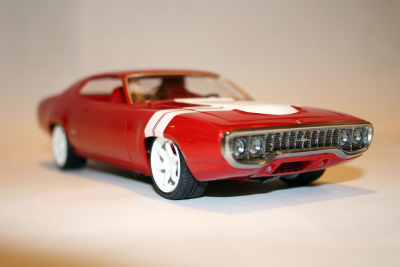 "'71 Plymouth GTX ""Bloody Machine"" (Monogram) [Terminée] 413"