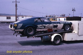 "Ford C-600 ""Tommy Grove Race Car Hauler"" (AMT) [STANDBY] Rt410"