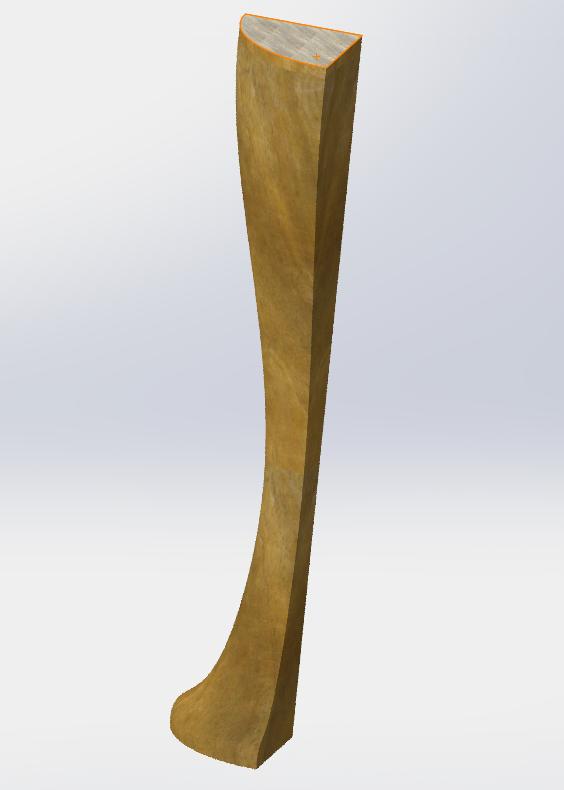 Une petite table basse en tamarin 2015-111