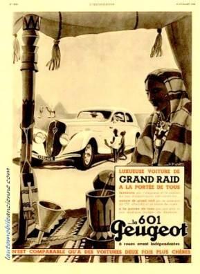 PUB Peugeot  d'époque 12191010