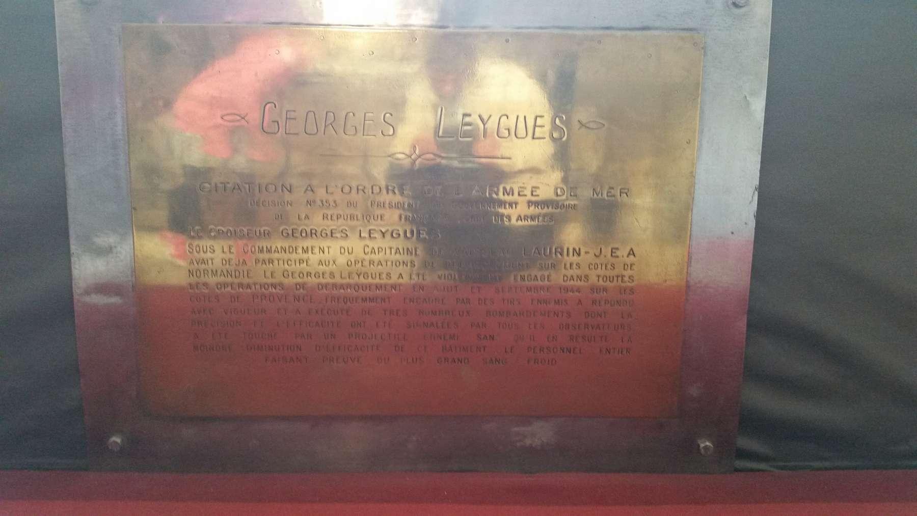 Maquette du croiseur Georges Leygues... X_4910