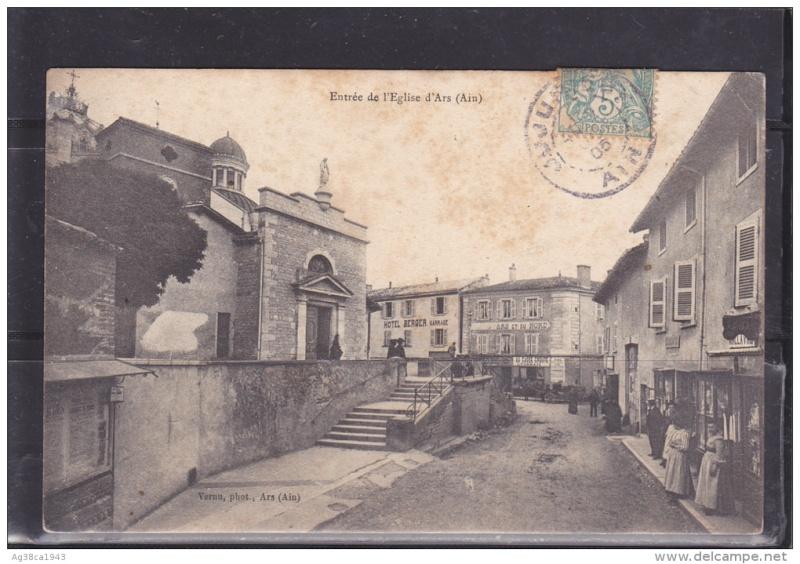 Cartes postales ville,villagescpa par odre alphabétique. Ars_su10