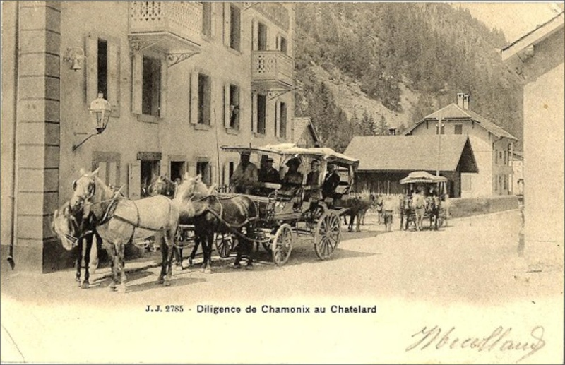 Cartes postales ville,villagescpa par odre alphabétique. Chamon10