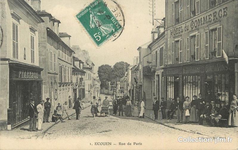 Cartes postales ville,villagescpa par odre alphabétique. Ecouen10