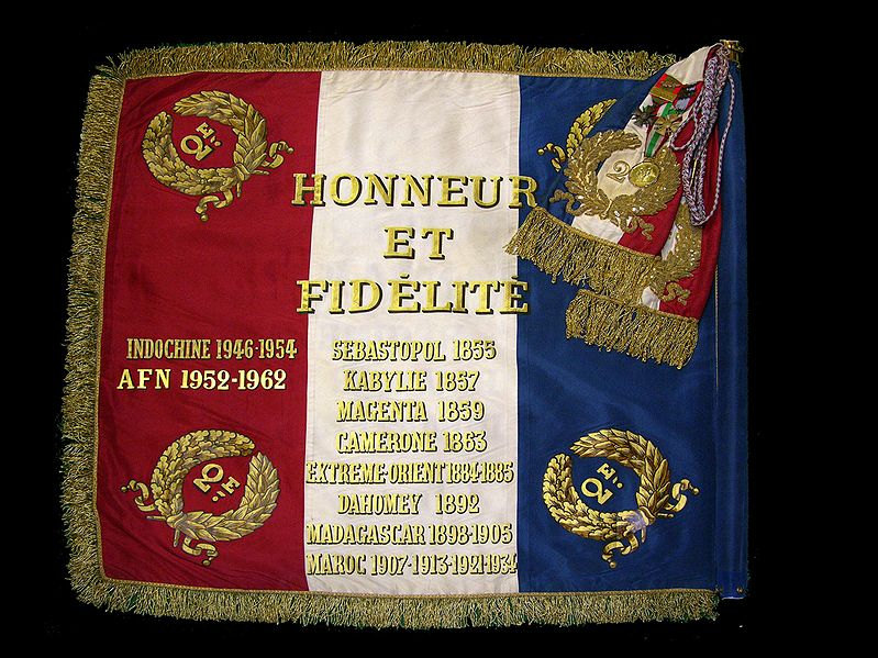 Honneur et Fidélité 1drape10