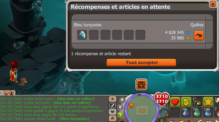 """Quêtes du succès """"Bleu Turquoise""""  !  Fin10"""