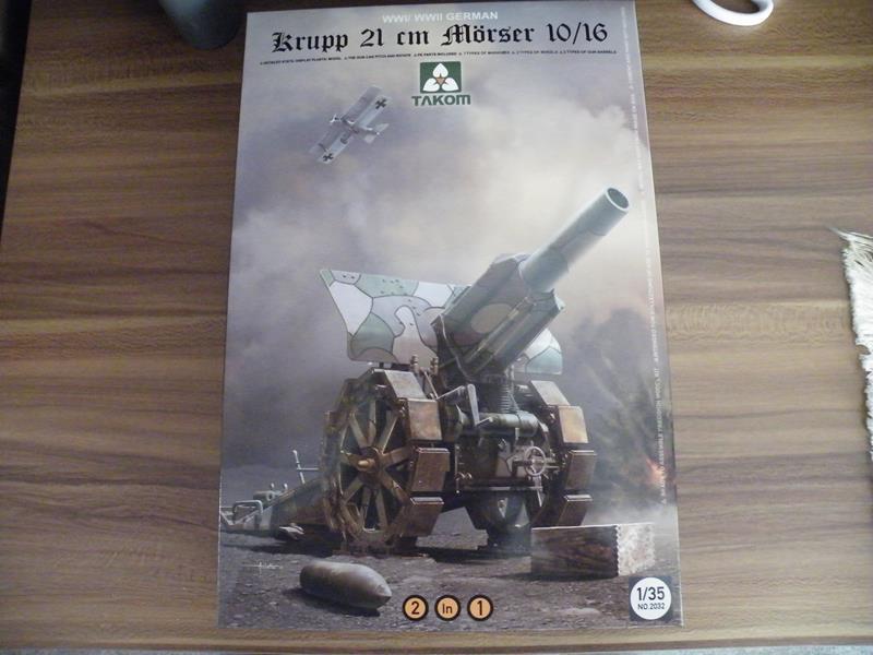 Takom 21 cm Mörser Krupp 10/16 in 1/35 Dscf2525