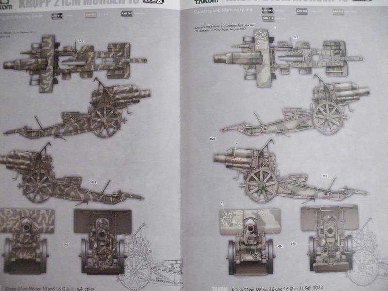 Takom 21 cm Mörser Krupp 10/16 in 1/35 Dscf2533