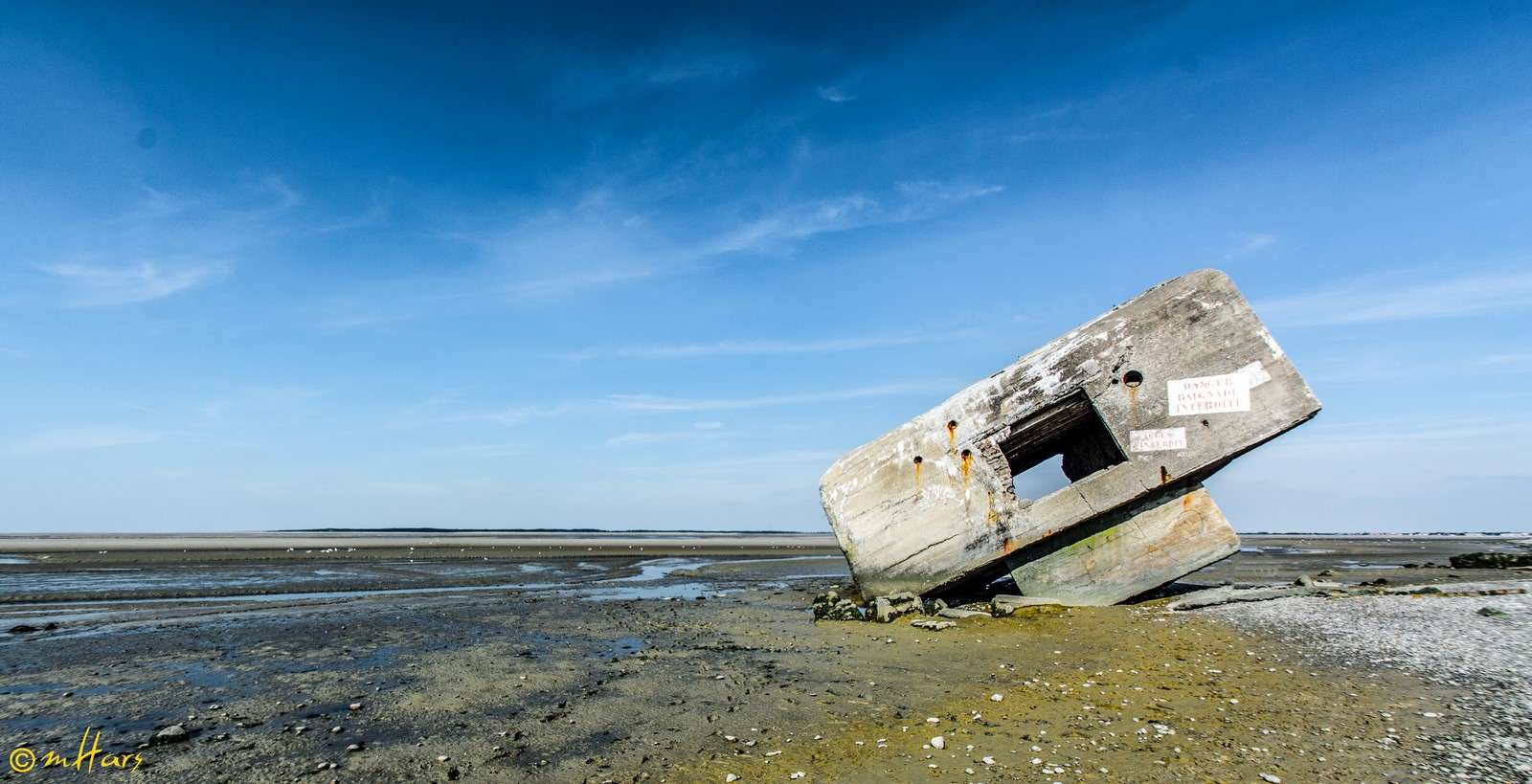 Vestige en baie de Somme Bds-1210