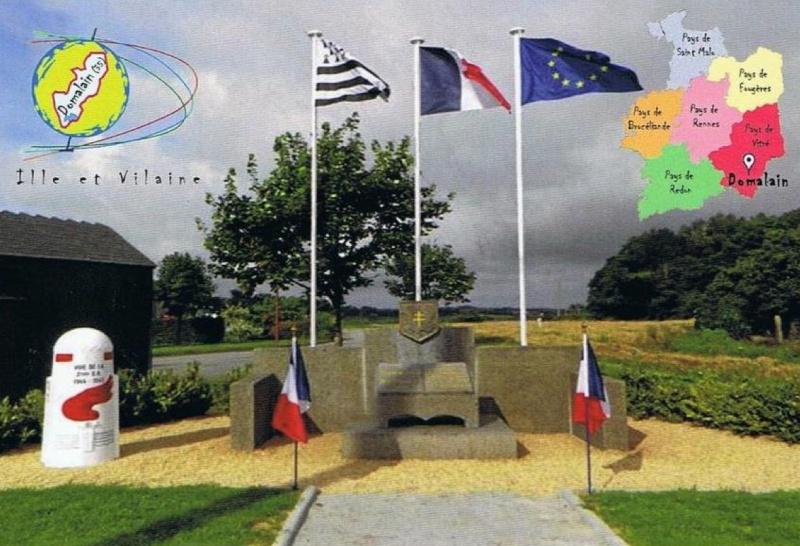 Domalain Ille-et-Vilaine ( + Borne 233 ) Domala11