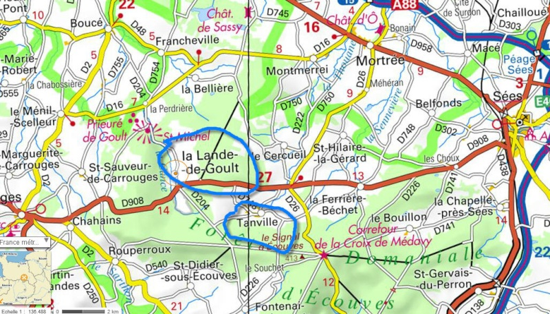 Foret D'Ecouves (Tanville) (Carrouges) Orne Lande10