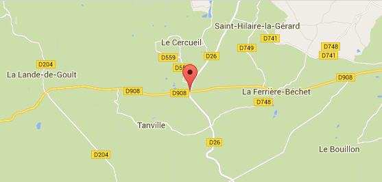 Foret D'Ecouves (Tanville) (Carrouges) Orne Lande110