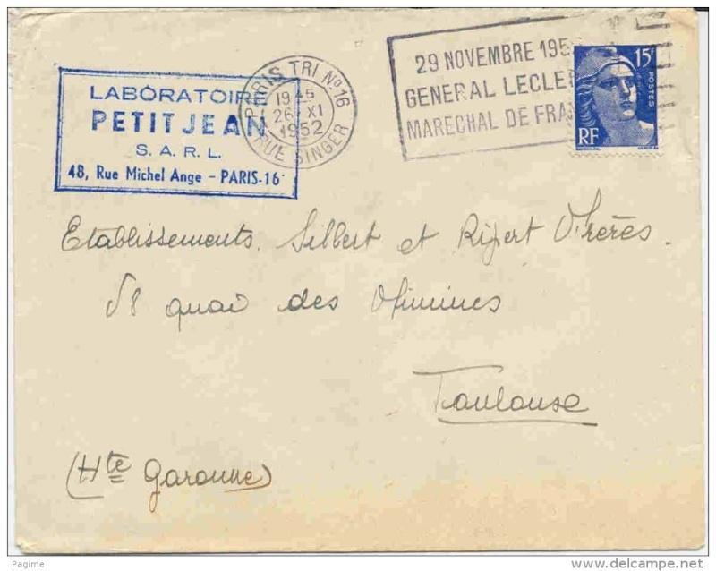 Paris  flammes 1952 Paris110